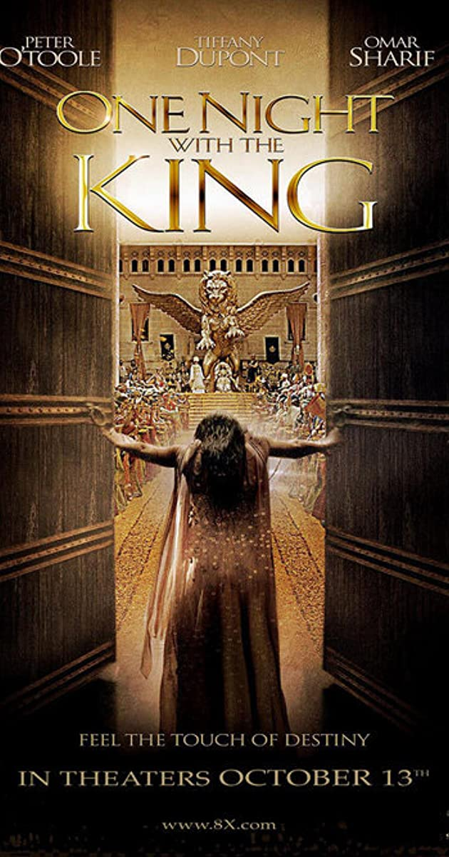 One Night With The King Cast