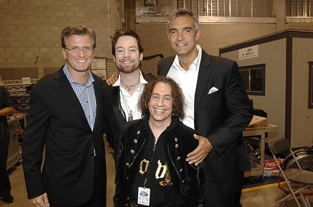 Peter Liguori, Mike Darnell, and David Cook in American Idol (2002)