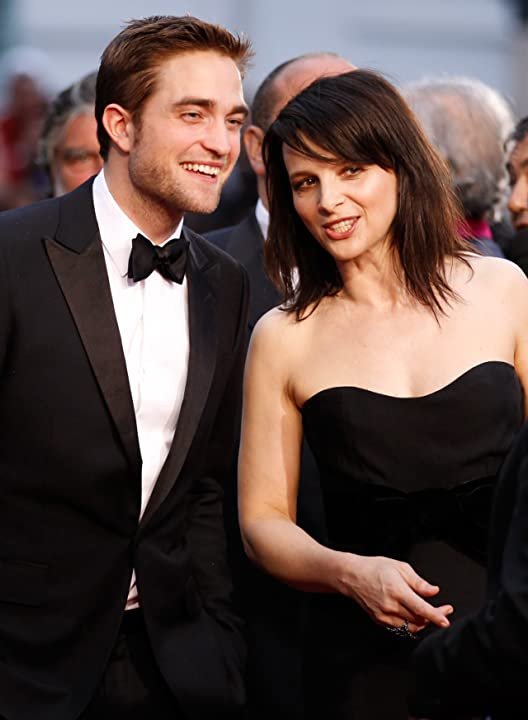 Juliette Binoche and Robert Pattinson at Cosmopolis (2012)