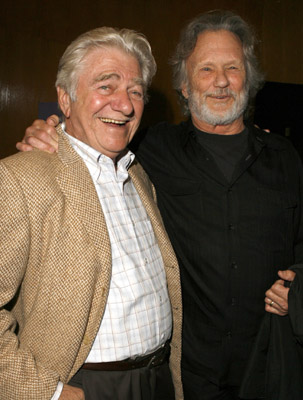 Seymour Cassel and Kris Kristofferson at The Wendell Baker Story (2005)