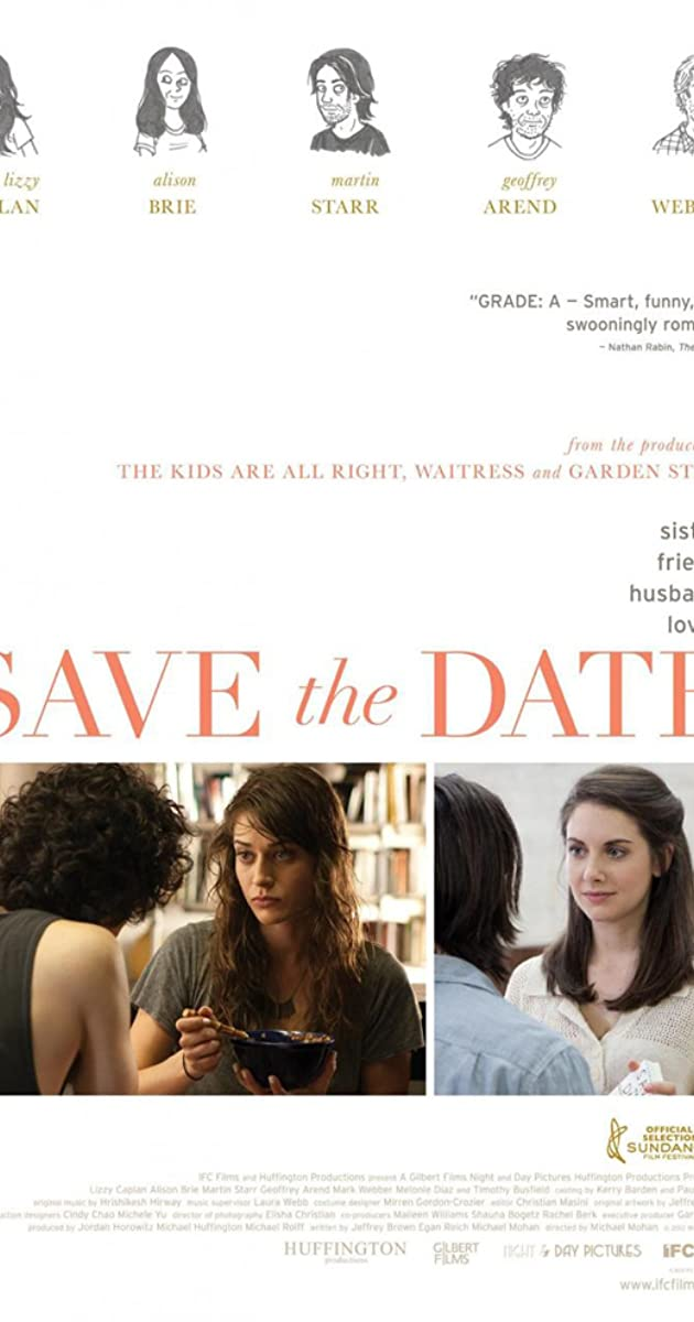 Save the date movie in Australia