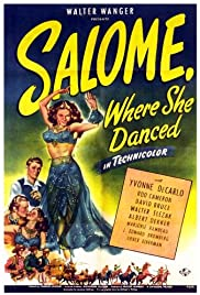 Salome Where She Danced Poster