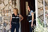 Elisabeth Shue and Jorja Fox in CSI: Crime Scene Investigation (2000)