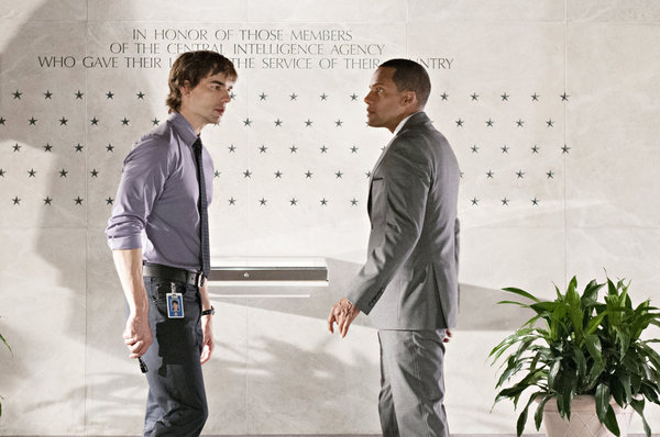 Hill Harper and Christopher Gorham in Covert Affairs (2010)