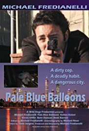 Pale Blue Balloons Poster
