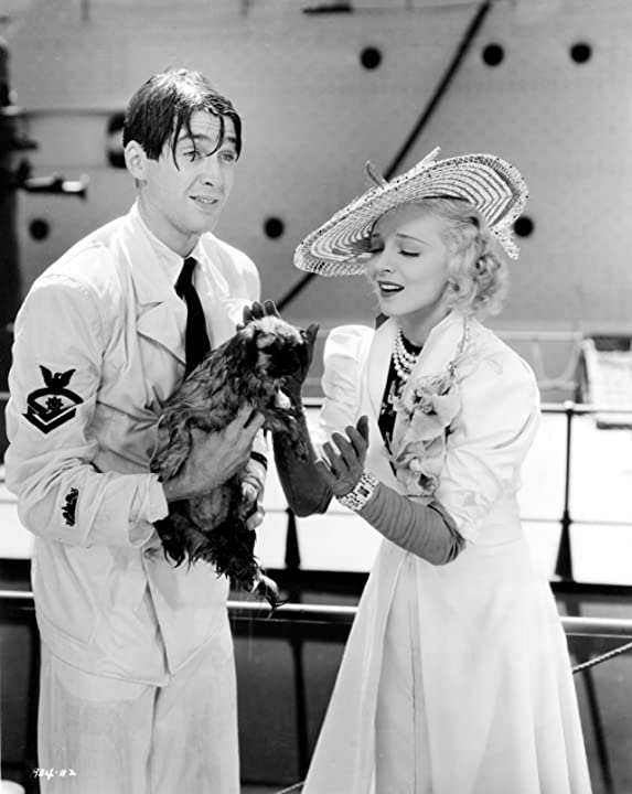 James Stewart and Virginia Bruce in Born to Dance (1936)