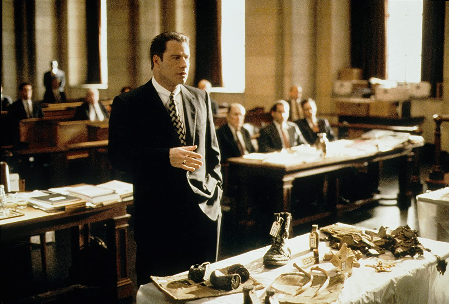 A Civil Action John Travolta in court scene