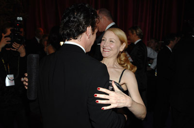 Sean Penn and Patricia Clarkson at event of The 80th Annual Academy Awards