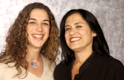 Barbara Kopple and Kristi Jacobson at an event for American Standoff (2002)
