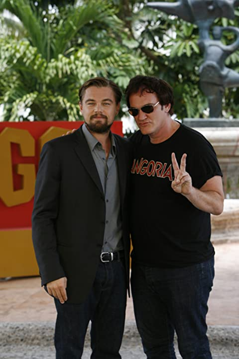 Leonardo DiCaprio and Quentin Tarantino at an event for Django Unchained (2012)