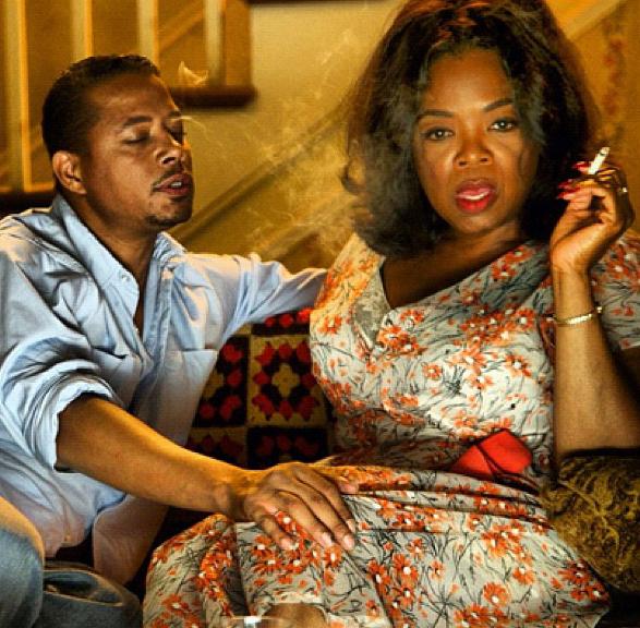 Oprah Winfrey and Terrence Howard in Lee Daniels' The Butler (2013)