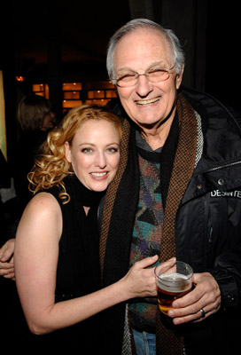 Alan Alda and Virginia Madsen at an event for Diminished Capacity (2008)
