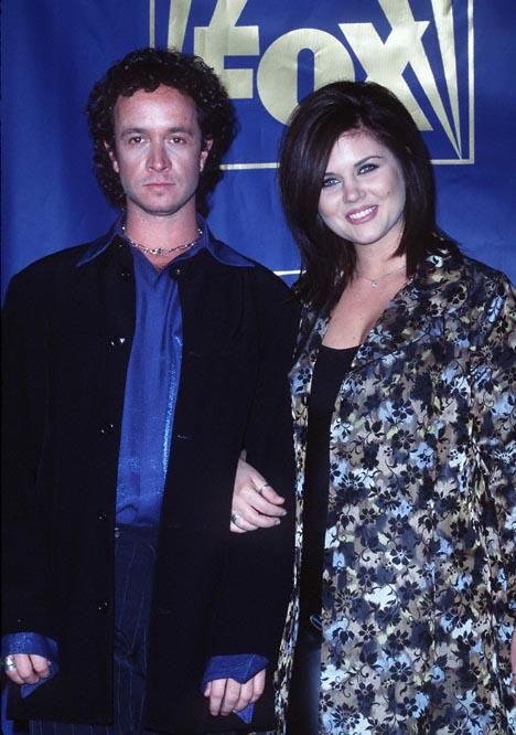 Pauly Shore and Tiffani Thiessen