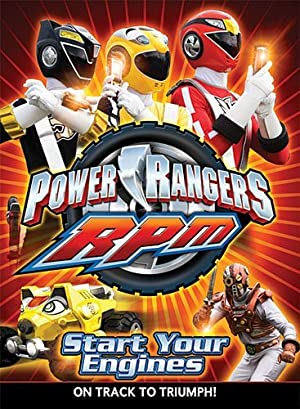 Poster Power Rangers R.P.M.