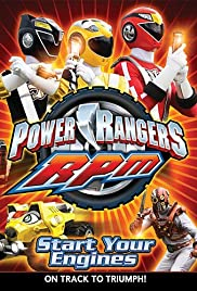 Power Rangers R.P.M. Poster