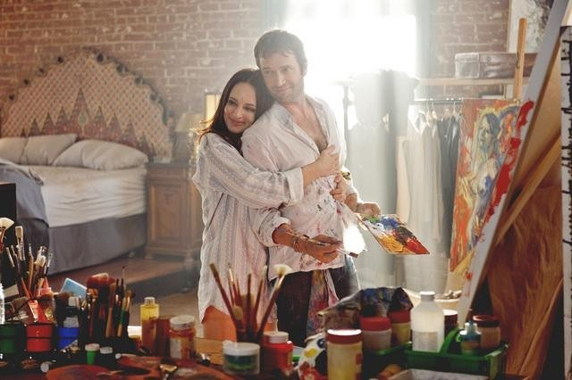 Madeleine Stowe and James Purefoy in Revenge (2011)