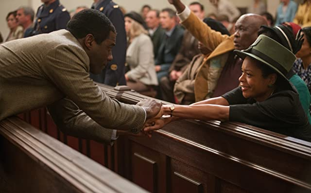 Idris Elba and Naomie Harris in Mandela: Long Walk to Freedom (2013)
