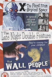 The Late Night Double Feature Poster