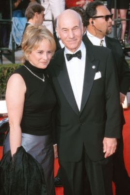 Patrick Stewart and Wendy Neuss