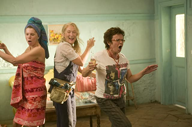 Meryl Streep, Christine Baranski, and Julie Walters in Mamma Mia! (2008)