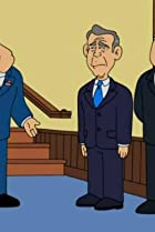 Image of American Dad!: Bush Comes to Dinner