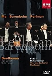 Beethoven: Triple Concerto/Choral Fantasy Poster