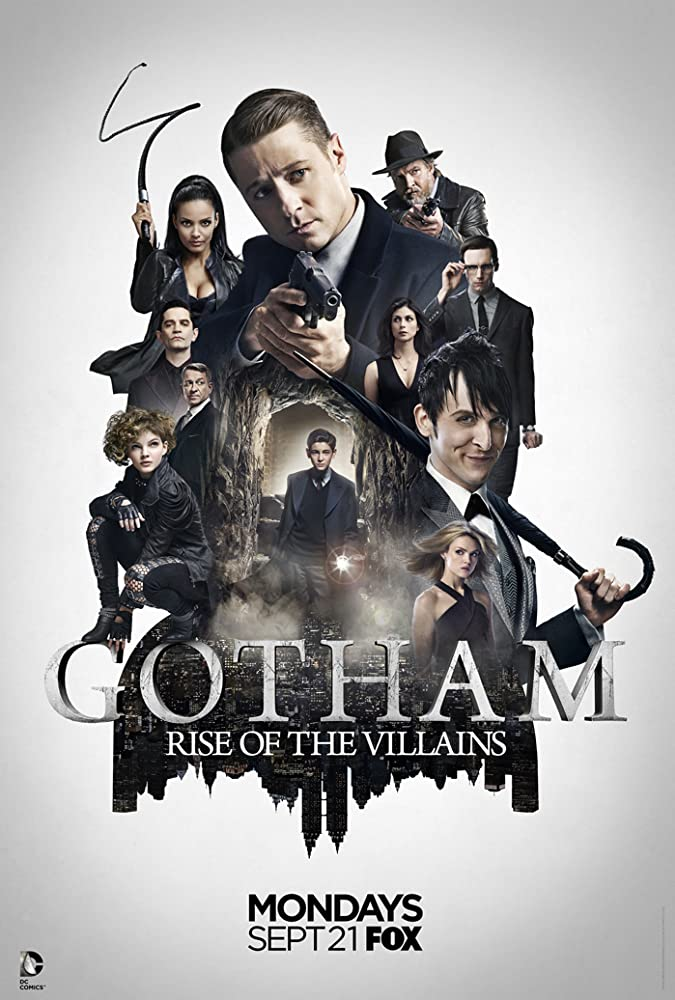 Gotham S03E02 – Mad City: Burn the Witch