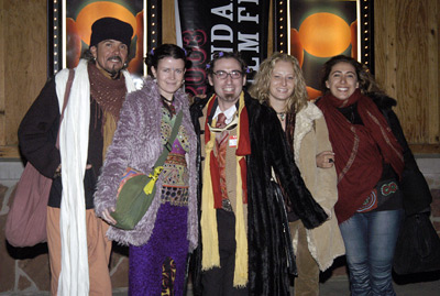 Richard Linklater and Timothy 'Speed' Levitch at Live from Shiva's Dance Floor (2003)