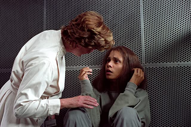 Halle Berry and Bronwen Mantel in Gothika (2003)