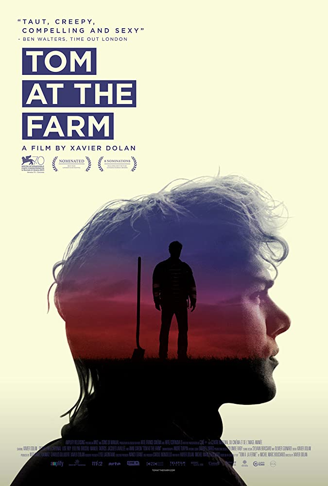 Tom at the Farm poster do filme