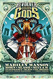 Golden Gods Awards Poster