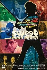 Sweet Ninja Brown Poster