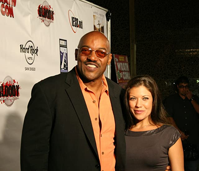 Ken Foree and Tiffany Shepis