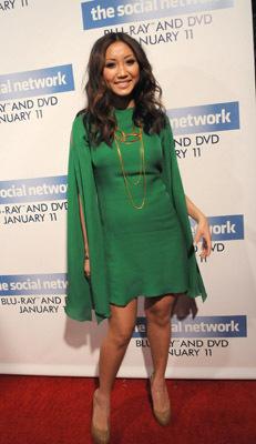 Brenda Song at The Social Network (2010)