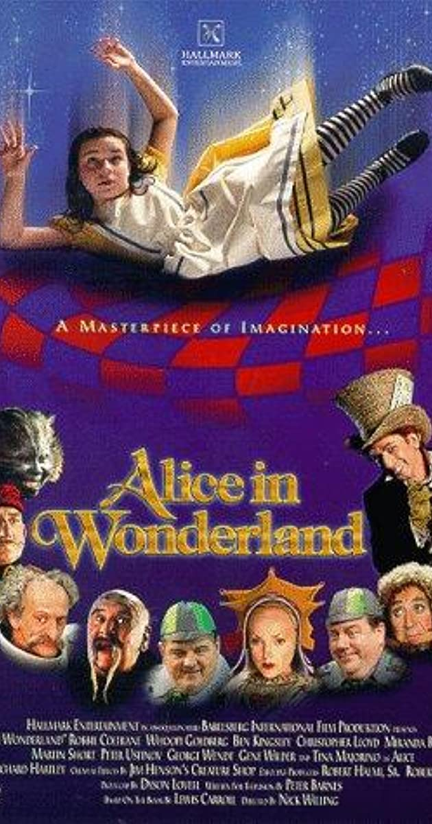 Alice In Wonderland Movie Order