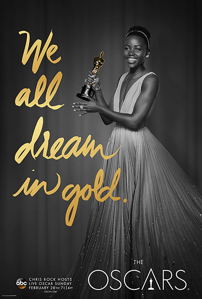 Lupita Nyong'o in The 88th Annual Academy Awards (2016)