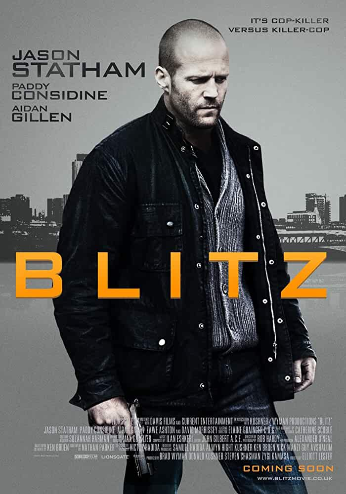 Poster Blitz 2011 HD Movie Trailer Full Movie Download Free Dual Audio