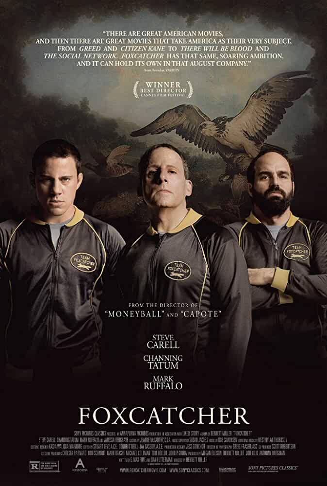 Foxcatcher 2014 Bluray 720p Dual Audio Watch Online Free Download 1GB