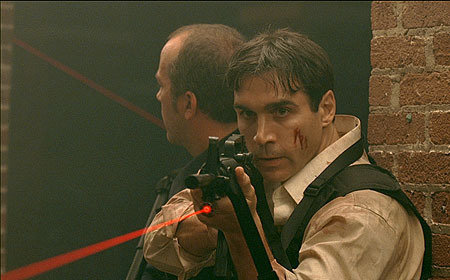 Adrian Paul in Eyeborgs (2009)