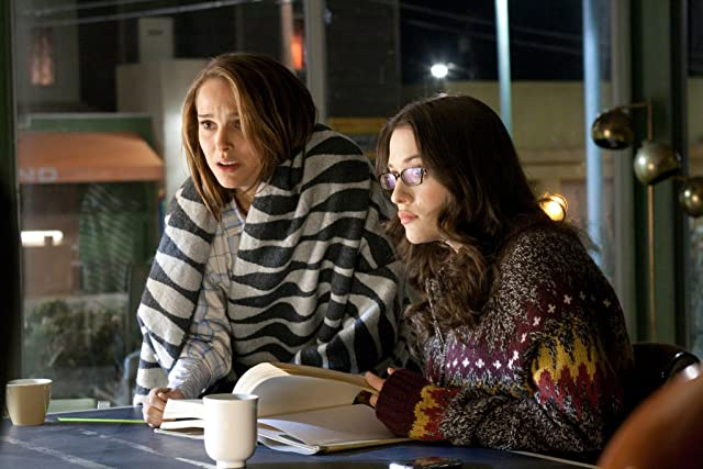 Natalie Portman and Kat Dennings in Thor (2011)