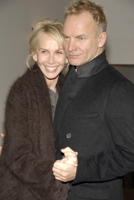 Sting and Trudie Styler at A Guide to Recognizing Your Saints (2006)