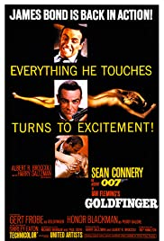 Goldfinger (1964) Poster - Movie Forum, Cast, Reviews