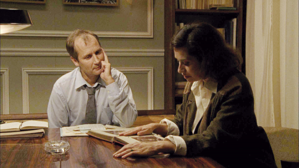 Emmanuelle Devos and Hippolyte Girardot in One Day You'll Understand (2008)
