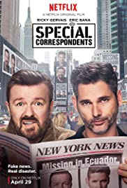 Special Correspondents (2016) Poster - Movie Forum, Cast, Reviews