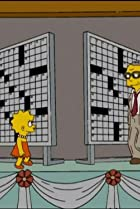 Image of The Simpsons: Homer and Lisa Exchange Cross Words