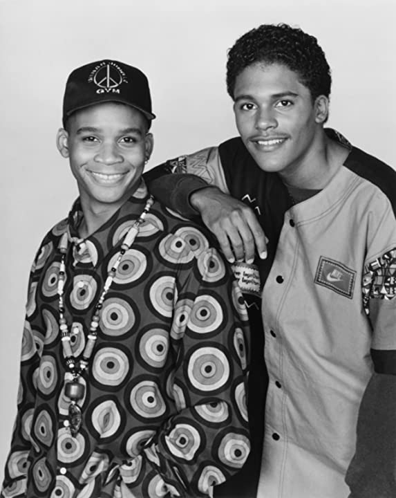 Patrick Malone and Bumper Robinson in A Different World (1987)