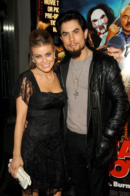 Carmen Electra and Dave Navarro at Scary Movie 4 (2006)