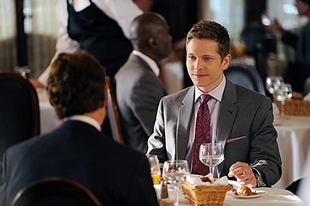 Matt Czuchry and Father John in The Good Wife (2009)