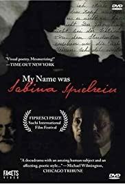 My Name Was Sabina Spielrein Poster
