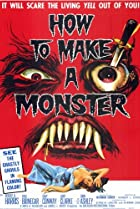 How to Make a Monster (1958) Poster